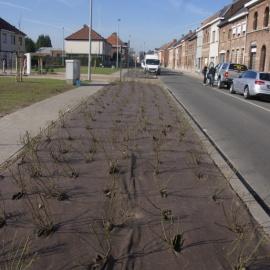 dauerhafte PLA Mulchmatte für Garten und Landschaftsbau