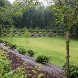 ökologsiche Mulchmatte für Parken und botanischen Garten