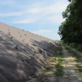 Unkrautmatte BIOCOVERS® für Erosionschutz im Strassenbau